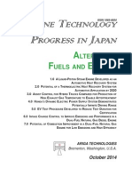Engine Technology Progress In Japan - Alternative Fuels and Engines