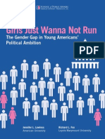 Girls Just Wanna Not Run Policy Report