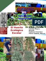 Trabajo Grupal Huerto Ecológico