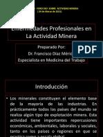 Enfermedades Profesionales en La Minería