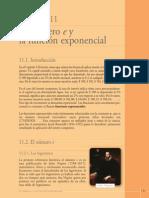 12 - Cap. 11 - El Número e y La Función Exponencial