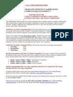 2013 Case Study Announcement