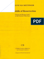 The Riddle of Resurrection Dying and Rising Gods in the ANE -  Tryggve N. d. Mettinger   Mythology   Rituals 4201656d1248