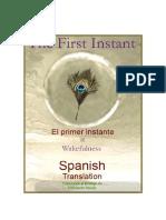 El Primer Instante de Gilbert Schultz <solo español>