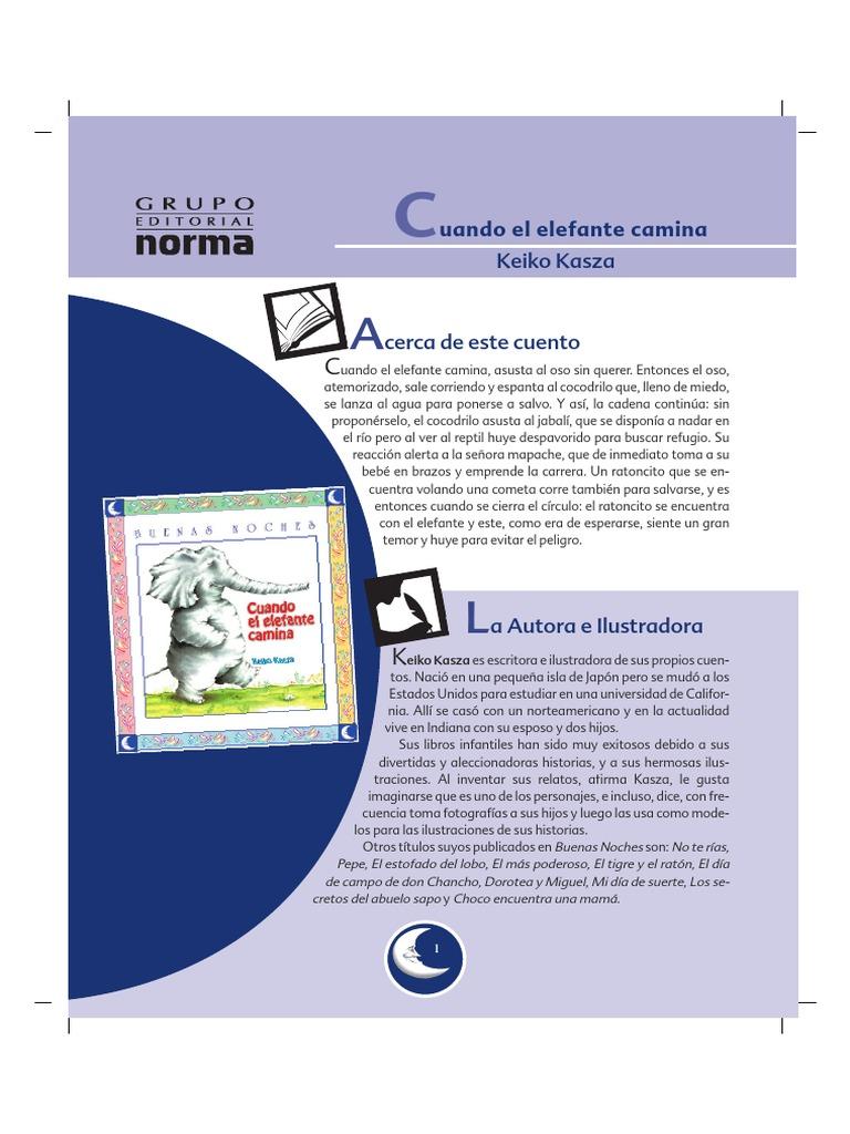 libro cuando el elefante camina pdf