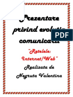 Prezentare Privind Evolutia Comunicarii