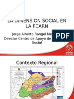 La proyección social y el Bienestar Institucional