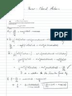 Final Exam Review-classical Mechanics