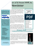 2014 Fall St. Vincent, NWR Supporters Newsletter