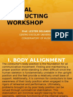 Power Point Choral Conducting Workshop