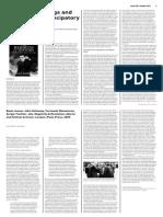 The Arab Uprisings and the Dawn of Emancipatory History