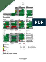 BCSD proposed 85-95 calendar 2016-17
