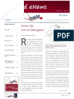 UA OMSE MedEd eNews v3 No. 5 [DEC 2014]