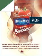 Recetario Barbacoa Hellmanns