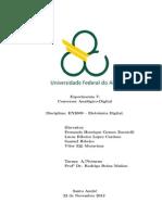 Relatório Exp7 Conversor Analógico-Digital Eletrônica Digital Quad4.2