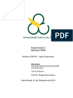 Relatório Exp5 Memória ROM Lógica Programável Quad5.2