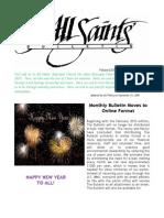 The Bulletin, January 2010