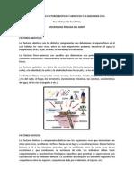 Relacion Entre Factores Bioticos y Abioticos y La Ingenieria Civil
