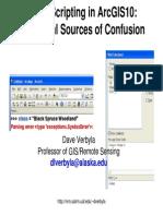 Arcpy Sources of Confusion AKSMC2011