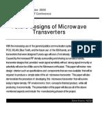 Future Design of Microwave Transverters