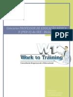 Curso Preparatório Concurso Professor de Biologia - SEE/SP PEB II