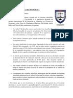 Declaración Pública Matrícula y Aranceles
