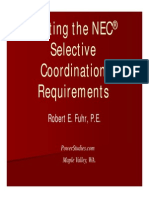 Meeting NEC for Selective Coordination