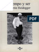Heidegger - Tiempo y Ser