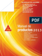 Manual de productos Sika 2013.pdf
