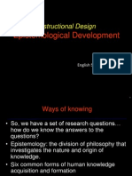 EPISTEMOLOGICAL DEVELOPMENT.ppt