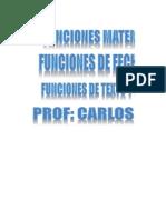 Funciones Matemáticas - Fecha - Texto