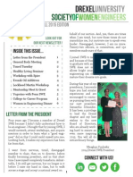 Drexel SWE Fall 2015 Newsletter