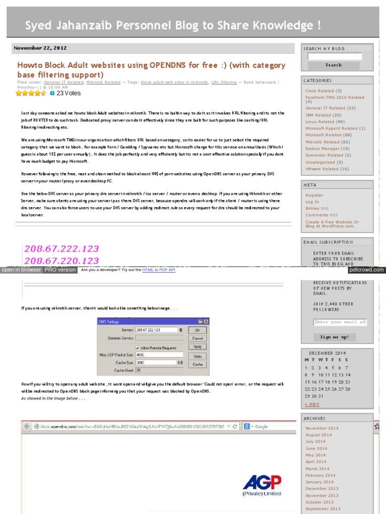 Aacable Wordpress Com Tag Block Adult Web Sites in Mikrotik