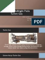 Sistem Pendingin Pada Turbin Gas