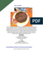 Tarta de Dulce de Leche y Chocolate