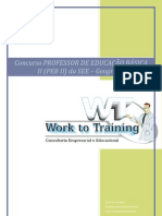 Curso Preparatório Professor de Geografia Concurso SEE/SP - PEB II