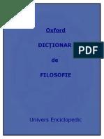 Oxford Dictionar de Filosofie