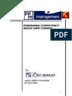 Penerapan Competency Based Hrm