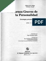 Otto Kernberg - Trast Graves de La Personalidad. Cap.1 - Diagnóstico Estructural