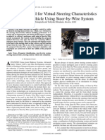 2009-IE-Adaptive Control for Virtual Steering Characteristics on EV Using SBW