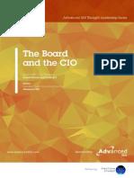 Cio Board Thought leadership