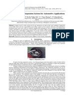 Design of Hybrid Suspension System for Automotive Applications