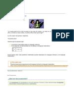 Introduccion a Las Ecuaciones Lineales01