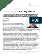 Página_12 __ El Mundo __ El Cóndor Expande Sus Alas Justicieras