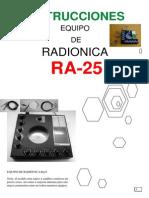 Instrucciones Ra25