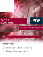 Part 3 - Modal Verbs