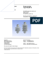 Operating Instruction of Surge arrester