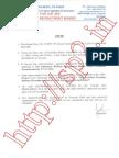 RRB Sec Junior Engineer 14 Dec 2014 Exam Keys PDF