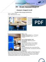 SAİTEM Semi-Annual Activity Report
