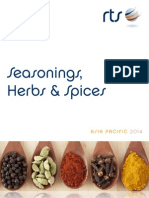 Seasonings, Herbs & Spices Report Preview